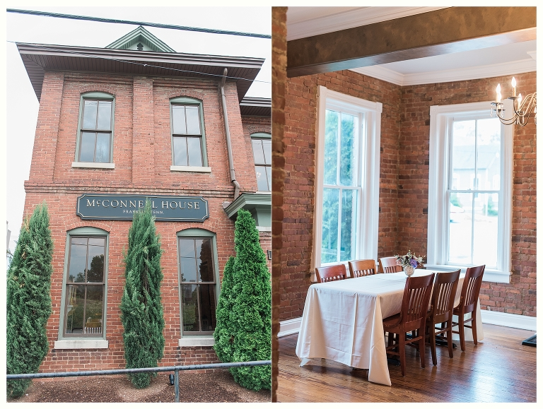 Intimate and Romantic Brunch Wedding- Nashville and Franklin Wedding