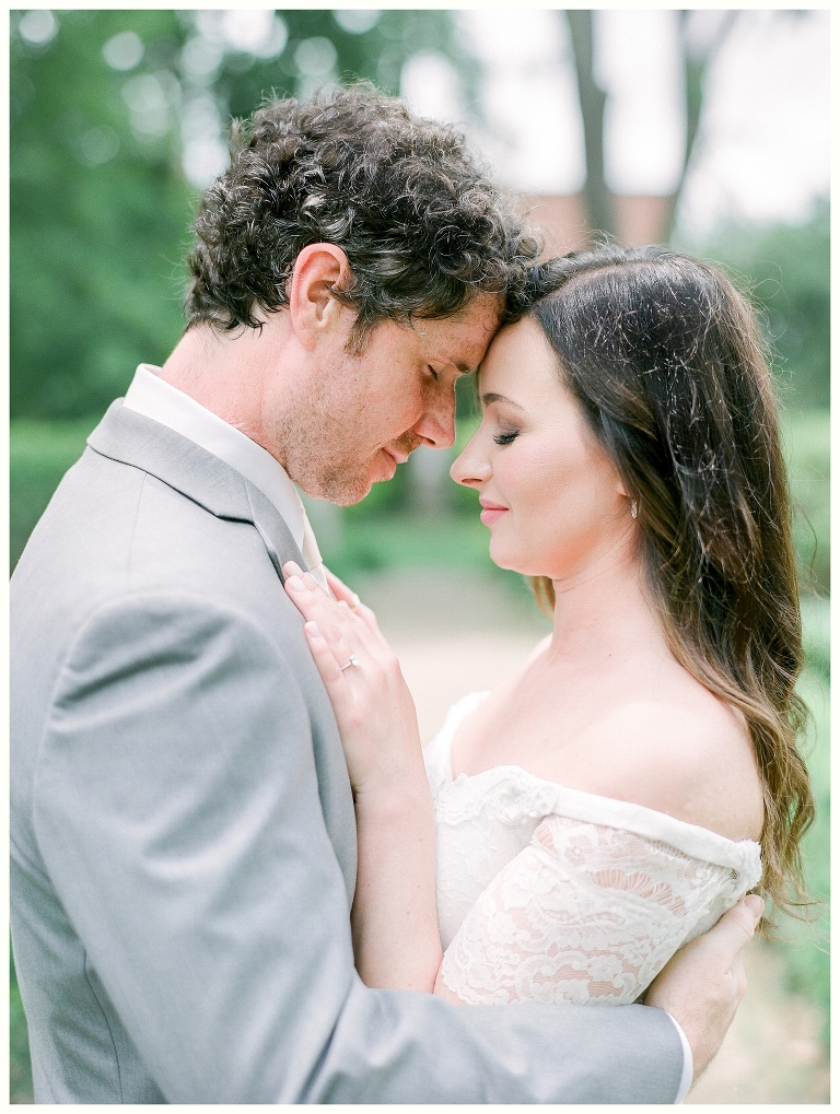 Intimate-elegant- garden- wedding Columbia and Nashville, TN